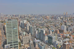 Tokyo city skyline. Bunkyo ward aerial view. Stock Images