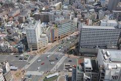 Tokyo city skyline. Bunkyo ward aerial view Stock Photo