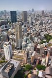 Minato Ward, Tokyo. Tokyo city skyline, Japan - aerial view of Minato Ward Stock Photo