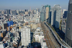 Tokyo City skyline Royalty Free Stock Image
