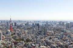 Tokyo City Skyline. Royalty Free Stock Photo