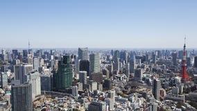 Tokyo City Skyline. Royalty Free Stock Photography