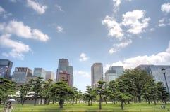 Tokyo city skyline Stock Photos
