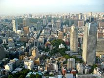 Tokyo City View Royalty Free Stock Image