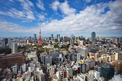 Tokyo city view Royalty Free Stock Images