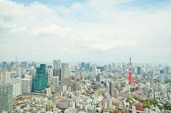 Tokyo city view Stock Photography
