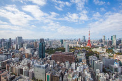 Tokyo city view Stock Photos