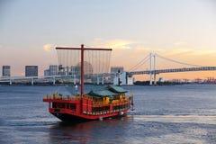 Tokyo city view,Rainbow bridge Stock Photography