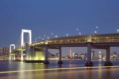 Tokyo city view,Rainbow bridge Stock Image