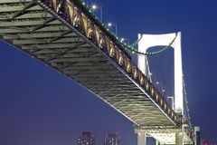 Tokyo city view,Rainbow bridge Stock Photo