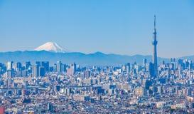 Tokyo city view Royalty Free Stock Photos