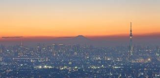 Tokyo city view Stock Image