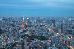 Tokyo city view Royalty Free Stock Photo