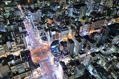 Tokyo Cityscape Royaltyfri Fotografi