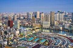 Tokyo Cityscape Royalty Free Stock Photography