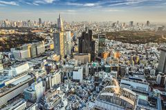 Tokyo Cityscape Stock Photography