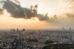 Tokyo cityscape Fotografering för Bildbyråer