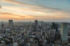 Tokyo cityscape Royaltyfria Foton