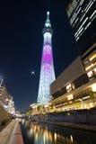 Tokyo cityscape Arkivfoton