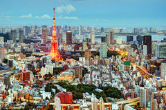 Tokyo Cityscape Royalty Free Stock Image