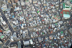 Tokyo cityscape. Many place of office building Royalty Free Stock Images