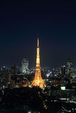 Tokyo cityscape at night, Japan Stock Image