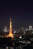 Tokyo cityscape at night, Japan Royalty Free Stock Photography