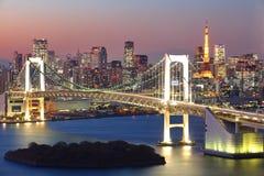 Tokyo cityscape Royalty Free Stock Image