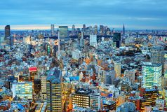 Tokyo Cityscape Stock Photography