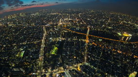 Tokyo Cityscape Time Lapse stock video
