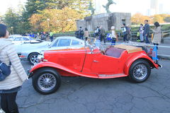 Tokyo Classic Car Festival in Japan Royalty Free Stock Photography