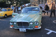 Tokyo Classic Car Festival in Japan Royalty Free Stock Image