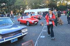 Tokyo Classic Car Festival in Japan Stock Photography