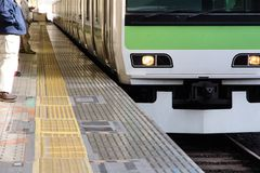 Tokyo Commuter Train Royalty Free Stock Image