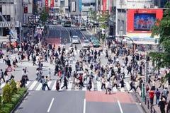 Tokyo Crowds Stock Photos