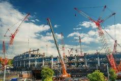 Tokyo das Olympiastadion Stockfotografie