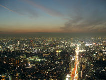 Tokyo de ci-avant Image stock