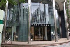 Hugo Boss em Japão fotografia de stock