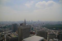 Tokyo dense city landscape Royalty Free Stock Image