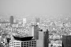 Tokyo dense populated city Stock Photos