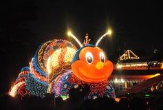 Tokyo Disney atterra la parata elettrica. Immagine Stock