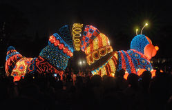 Tokyo Disney Land Electrical Parade. Royalty Free Stock Photography