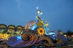 Tokyo Disney nella notte durante l'anno 2012 Fotografia Stock
