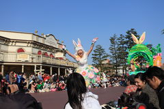 Tokyo Disneyland,Japan. Easter Dream joyous parade of all kinds of fairy tales and cartoon characters in Tokyo Disneyland in Japan Stock Photography