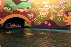 Tokyo Disneyland,Japan. Inside of the Small World building,Disneyland,Japan Stock Photo