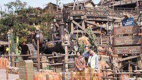 Tokyo Disneyland parkerar Arkivfoto
