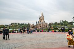 Tokyo Disneyland Resort au Japon photos stock