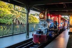 Tokyo Disneyland Resort i Japan arkivfoto
