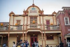 Tokyo Disneyland Resort i Japan royaltyfria bilder