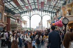 Tokyo Disneyland Resort nel Giappone immagini stock libere da diritti